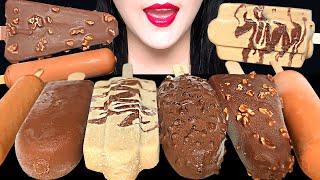 ASMR CHOCOLATE ICE CREAM MUKBANG 초콜릿 아이스크림 먹방 EATING SOUNDS