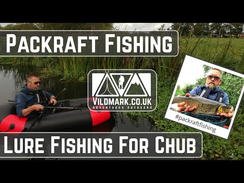 Packrafting And Lure Fishing For Chub On The River Waveney.