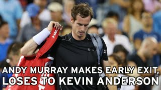 Andy Murray Makes Quick Exit At US Open