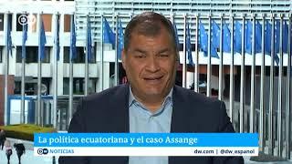 """Correa sobre detención Assange: """"Moreno es un traidor completo"""""""