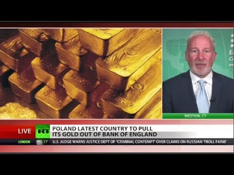 Peter Schiff sounds gold warning!