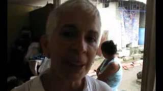 Adela de Torrebiarte de ADN visita Baja Verapaz