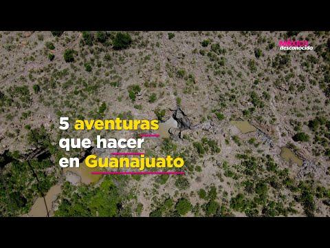 ¡5 actividades de aventura en Guanajuato!