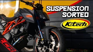 Superduke Suspension SORTED! | K-tech Refresh & Revalve