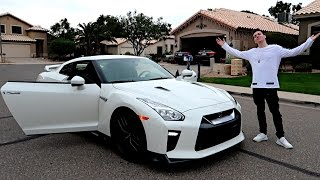 MY NEW CAR  - 2017 NISSAN GTR