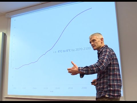 Kevin Anderson - Delivering on 2°C: evolution or revolution? – the Earth101 lecture