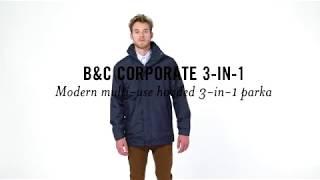 B&C CORPORATE 3-IN-1: JU 873