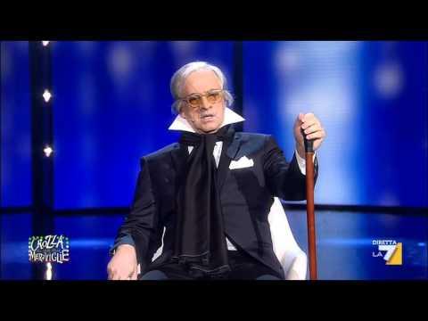 Crozza-Della Valle: 'Iimmagino un'Italia divisa in 4 grandi robe'