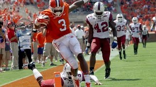 Artavis Scott (Clemson WR) vs South Carolina 2015