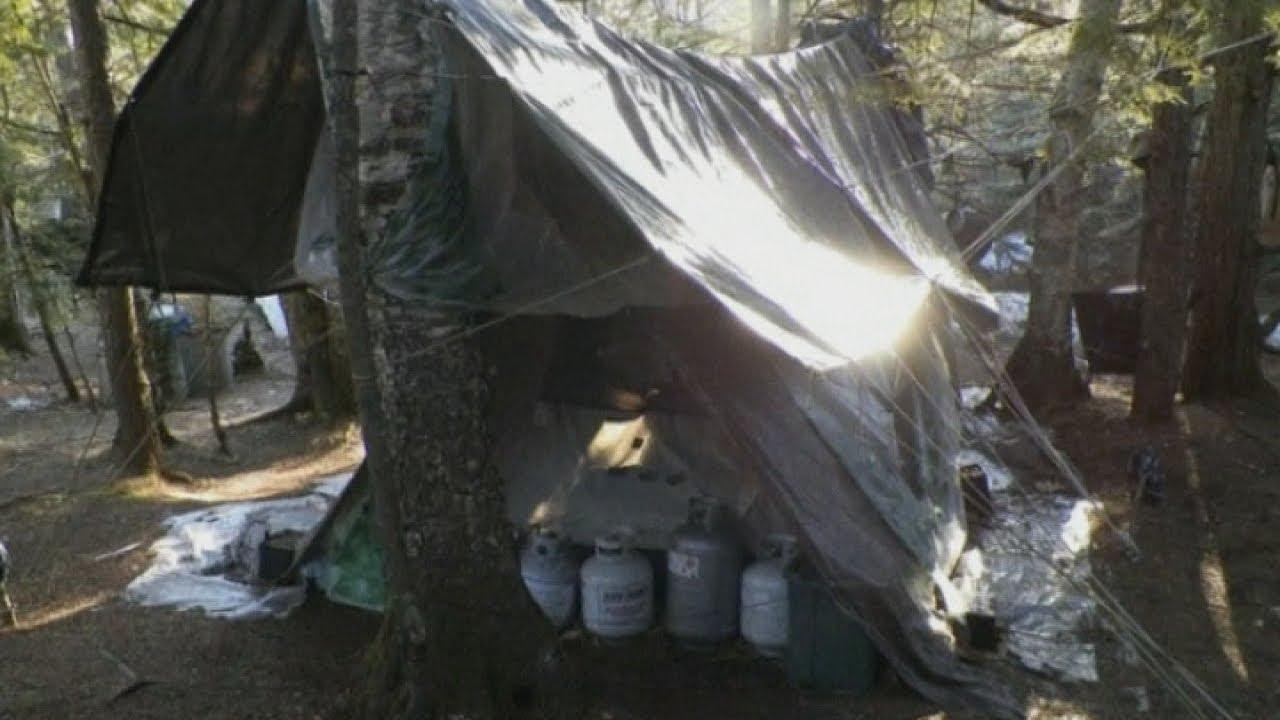maine hermit arrested after living in the woods for 27. Black Bedroom Furniture Sets. Home Design Ideas