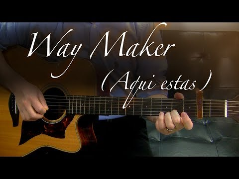 Way Maker (Aqui Estas) - Guitarra Tutorial
