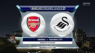 Video Gol Pertandingan Arsenal vs Swansea City