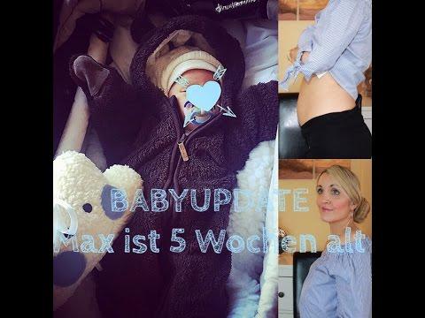 BABYUPDATE | MAX IST 5 WOCHEN ALT | MAMAALLTAG | Gewicht/Stillen/U3