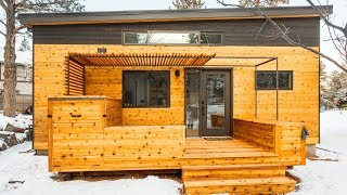 The Incredible Hiatus Tiny House Built For Tiny Cottage Community In Bend | Lovely Tiny House