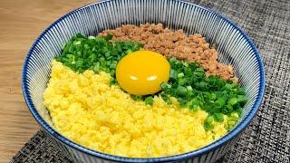 소보로 덮밥 만들기ㅣ돼지고기로 만드는 소보로동ㅣ정말 맛…