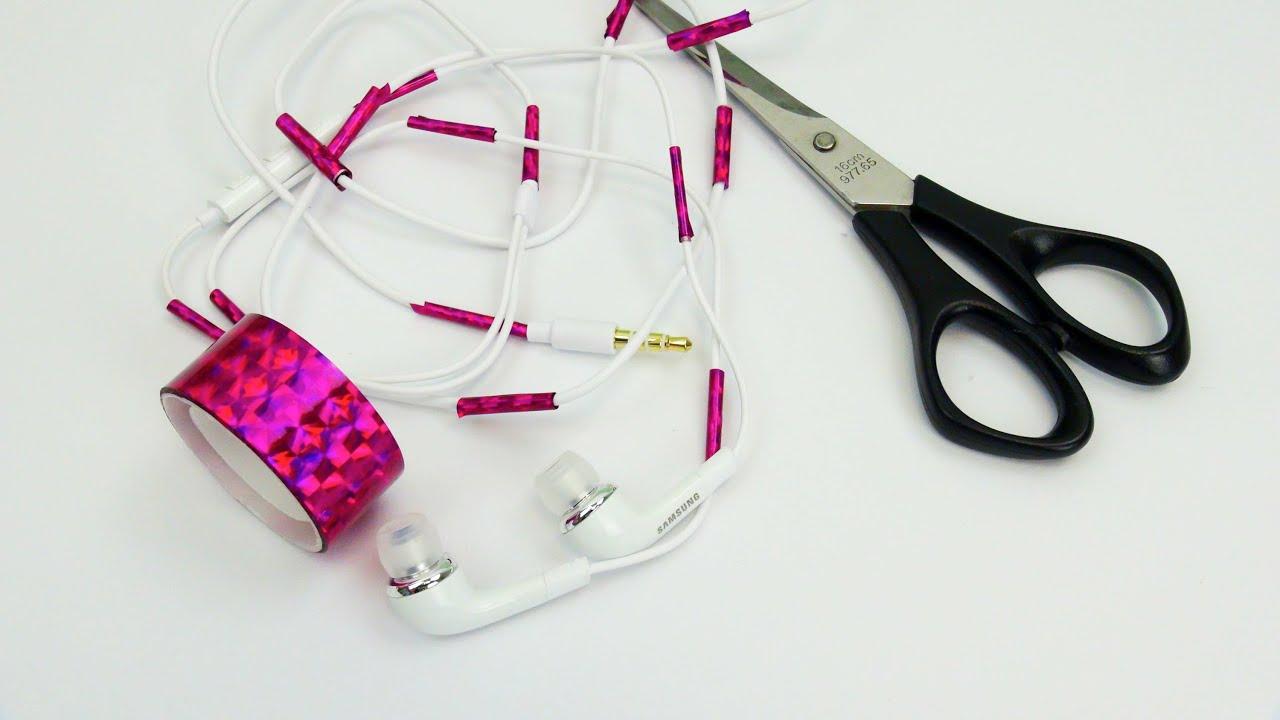 washi tape ideen kopfh rer kabel versch nern diy kopfh rer gestalten tutorial deutsch. Black Bedroom Furniture Sets. Home Design Ideas