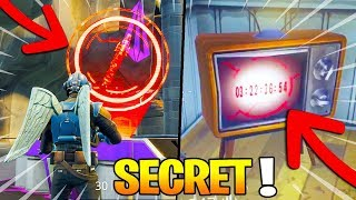 SECRET: um REBOURS COMPTE para o FUSÉE no Fortnite: Battle Royale