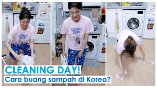 [Ameliyagi] CLEANING DAY! CARA BUANG SAMPAH DI KOREA? (+TRANSFORMASI MEJA RIASKU)