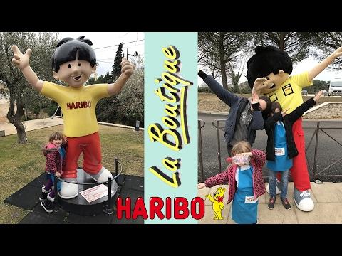 SHOPPING • LA BOUTIQUE HARIBO pleine de BONBONS ! - Studio Bubble Tea unboxing