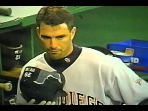 """Archi Cianfrocco Spits Inside & Outside Batting Helmet! """"San Diego Padres"""""""