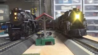 Review- Lionel HO Polar Express Berkshire & Tender W/ LionChief-  Full Track Test!