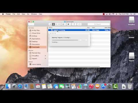 Install Vagrant (Mac)
