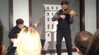 "Strings Sessions: Philippe Quint Performs with 1708 ""Ruby"" Stradivari violin"