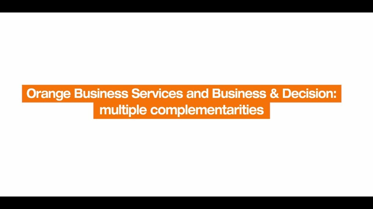 Meeting the digital challenges of business | Orange Business