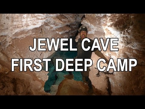 Deep Camp in Jewel Cave National Monument