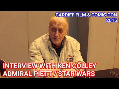 FCCC - Ken Colley/Admiral Piett Interview (Star Wars 41 Days)