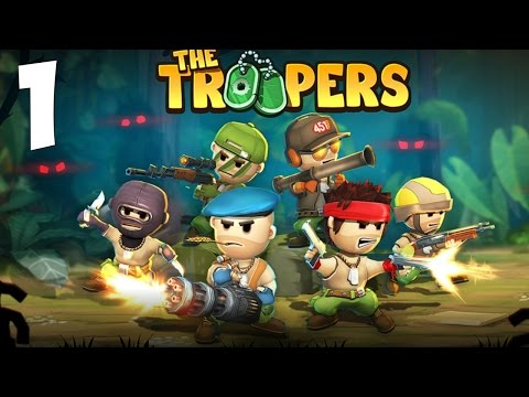 The Troopers minions in arms Gameplay Walkthrough - KGameplay