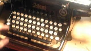 Ideal S&N Schreibmaschine