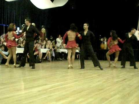 Salsa Heat Pro Team at Latin Beat Anniversay Social