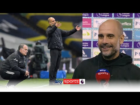 Guardiola praises Bielsa's Leeds after action-packed draw! | Leeds Utd 1-1 Man City | Post Match