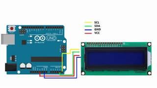 LCD 1602 подключаем к Arduino
