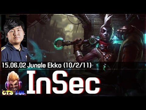 InSec cầm Ekko quẩy Rank Hàn