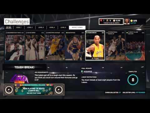 NBA 2K15 (PS4): Tough Break Challenge Complete + Sapphire George Mikan!