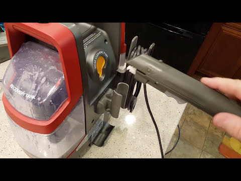 Hoover FH1300PC Spot Cleaner Review How to Spotless