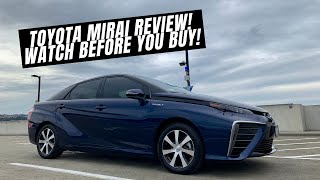 2017 Toyota Mirai Hydrogen Fuel Cell Review [Owner Review] BETTER THAN A PRIUS