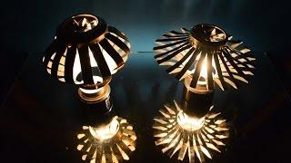 Lámpara Giratoria para velas de cera / Rotating lamps with candles