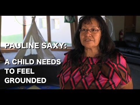 Pauline Saxy - A Child Needs to Feel Grounded