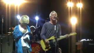 Paul Weller & Tim Burgess - A town called Malice (Massa Martana, Umbria Rock Festival, Aug 2nd 2014)