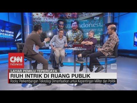 Debat Seru Rocky Gerung & Budiman Sudjatmiko Bicara Politik Bohong di Ruang Publik