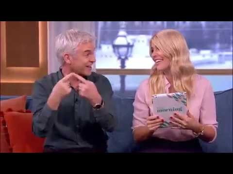 Jay Stansfield on ITV's This Morning with Phillip and Holly