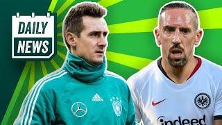 Franck Ribéry zur Eintracht? Miroslav Klose vs. Nachwuchsspieler!