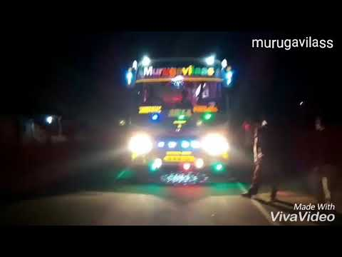 Murugavilass tourist Bus. Tiruchengode. Mass 💥 Entering Kiot college for IV