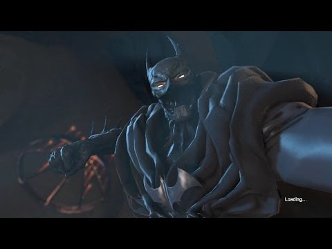 Batman: Arkham Origins - Worst Nightmare Batsuit Skin Gameplay [Beta]