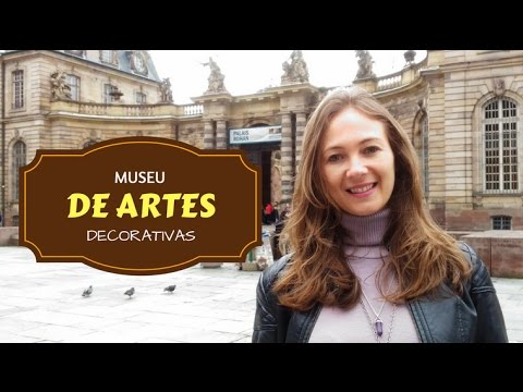 Visita ao Museu de Artes Decorativas - Palais Rohan