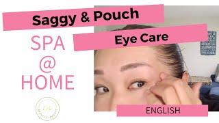 DePuff eye area massage ! Esthy Spa @ Home!