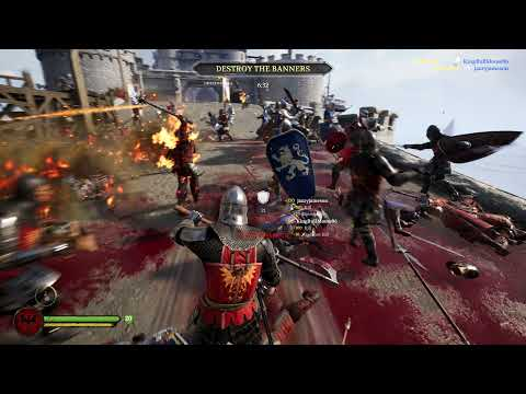 Chivalry 2 - The Fall of Lionspire! - No Commentary Gameplay! |